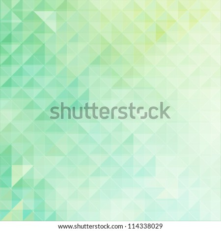 Business concept mosaic background - stock vector