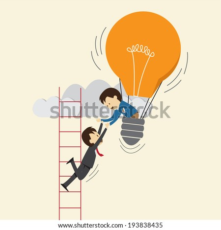 business concept , support - stock vector