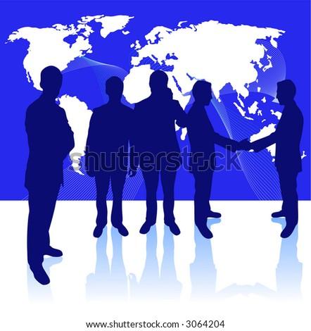 business concept vector. - stock vector