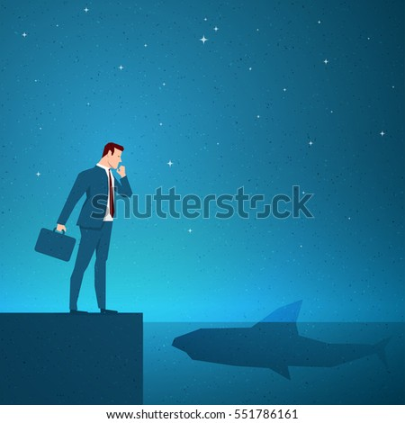 Business concept vector illustration. Elements are layered separately in vector file.