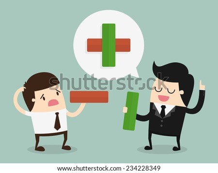 Business consulting - stock vector