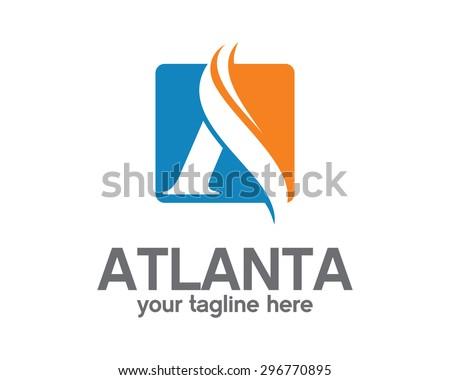 Business Corporate Letter A Logo Design Template Simple