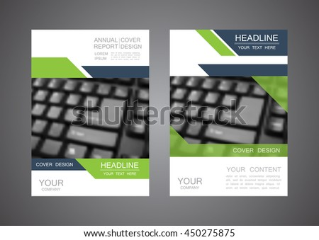 business cover design, annual report, cover template
