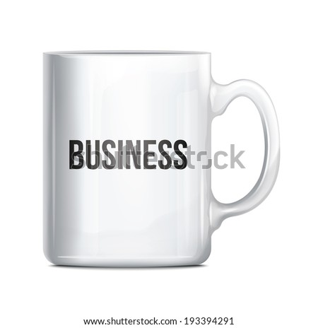 Business Cup - stock vector