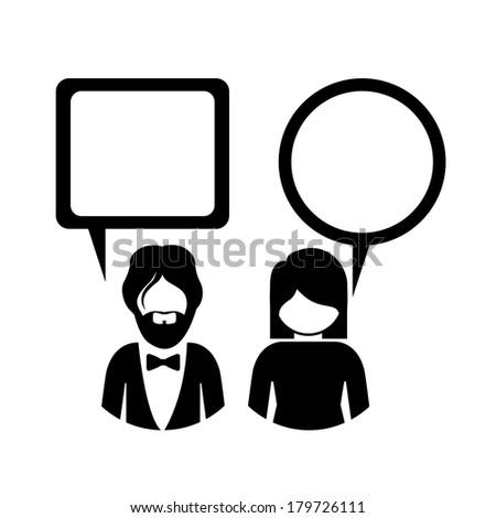 business design  over  white background vector illustration - stock vector