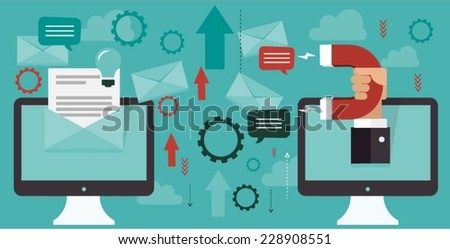 Business dynamics concept - stock vector