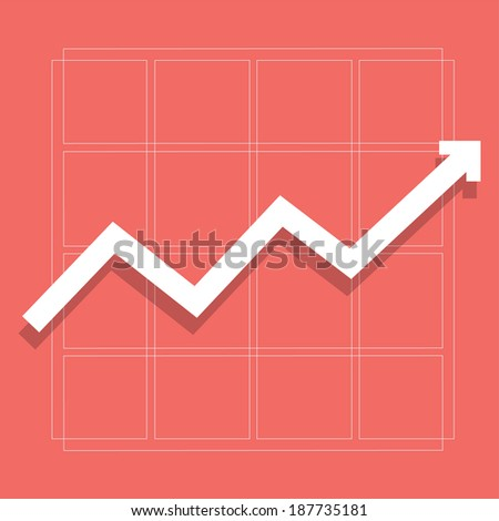 Business Graph - vector  - stock vector