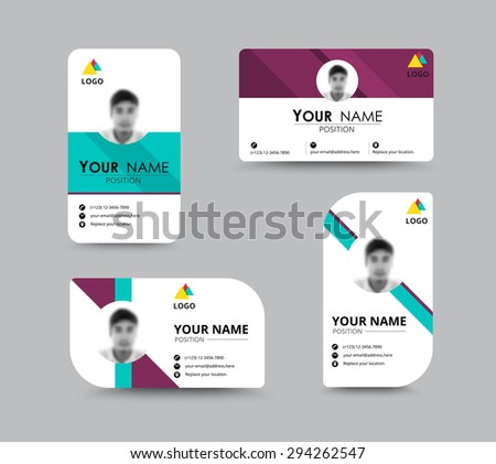 Business greeting card template design introduce stock vector business greeting card template design introduce card include sample text position vector illustration design m4hsunfo