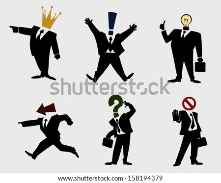 Business group - stock vector