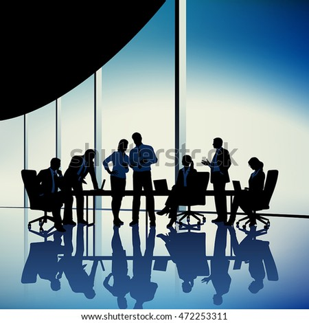 Business Group. Concept business illustration.