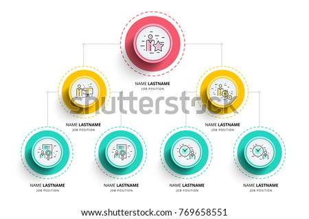 organigram template - organization stock images royalty free images vectors