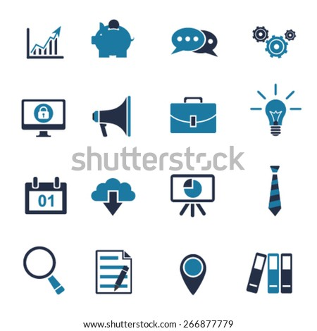 Business Icon Pack - stock vector
