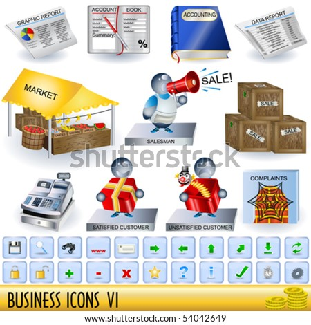 Business icons - part 6