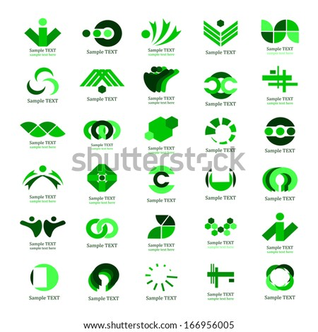 Business Icons Set - Isolated On White Background - Vector Illustration, Graphic Design Editable For Your Design.