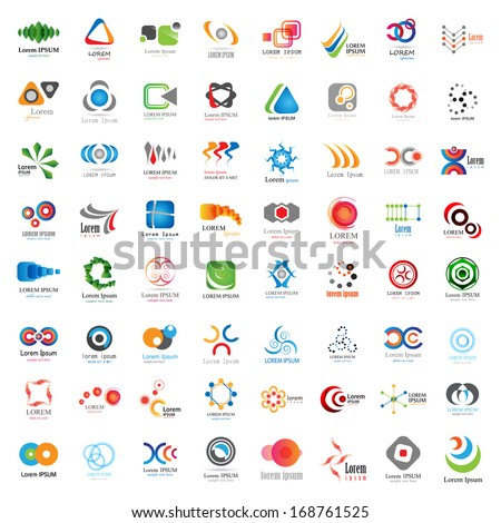Business Icons Set - Isolated On White Background - Vector Illustration, Graphic Design Editable For Your Design, Collection Of Flat Icons, Abstract Content  - stock vector