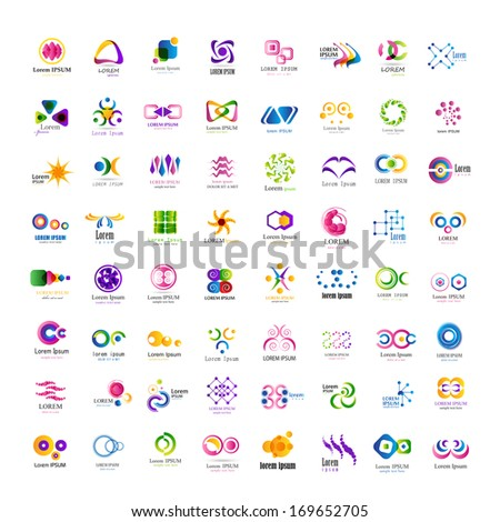 Business Icons Set - Isolated On White Background - Vector Illustration, Graphic Design Editable For Your Design. New Icons - stock vector
