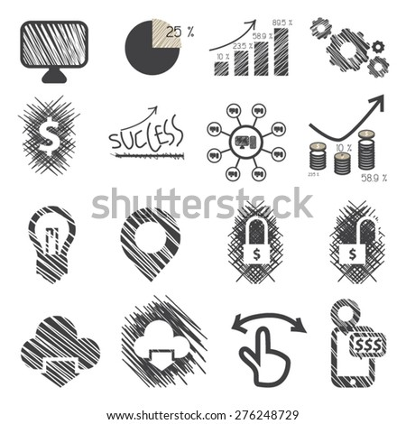 Business icons ,Vector