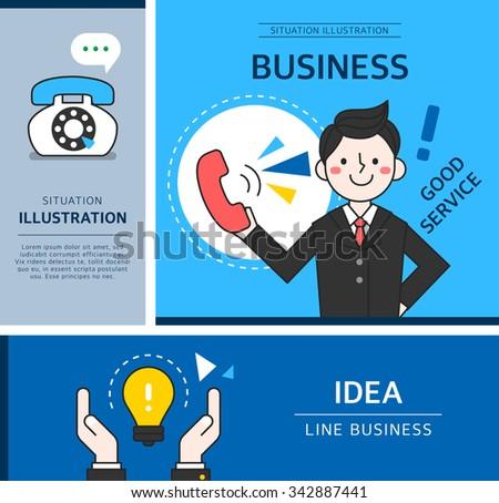 Business Illustration - stock vector