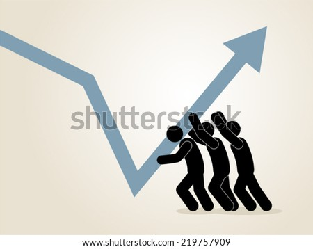 business improvement concept - stock vector