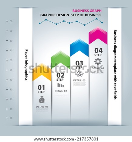Business Infographic Element data  Template  - stock vector