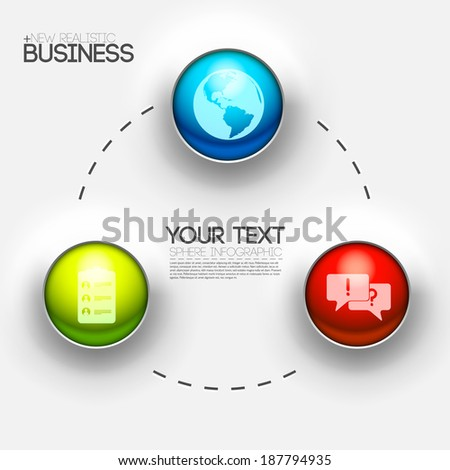 business infographic interface design background concept. vector illustration