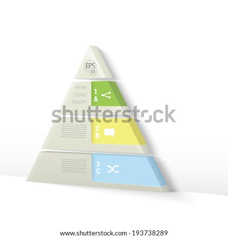 Business infographics or presentation concept set, , blue, yellow, and green edition. Adjustable vector element versions. - stock vector
