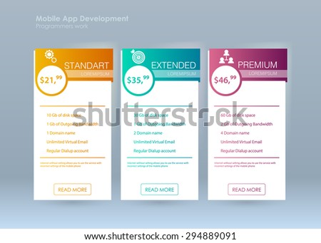 Business Infographics Tabs Template Presentation Education Stock ...