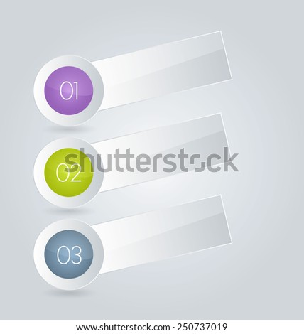 Business infographics tabs template for presentation, education, web design, banners, brochures, flyers. Brown and pink colors. Green and purple. Vector illustration.