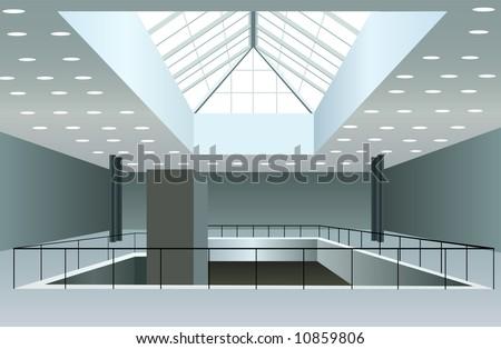 business interior vector - stock vector