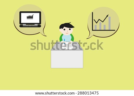 Business investment vector illustration - stock vector