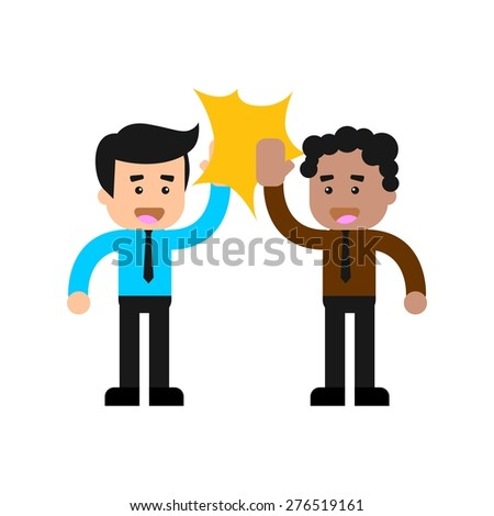 High-five Stock Vectors, Images & Vector Art | Shutterstock