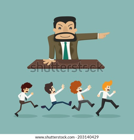 Business man go to work , eps10 vector format - stock vector