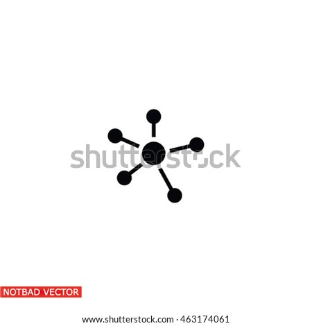 Business  Network vector icon