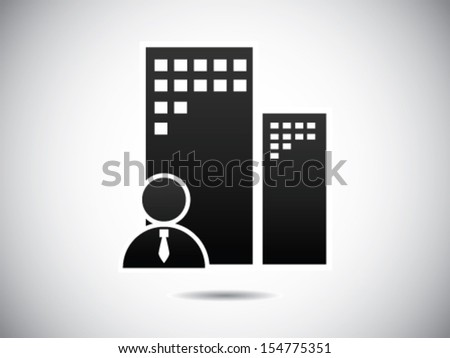 Business Office Symbol - stock vector