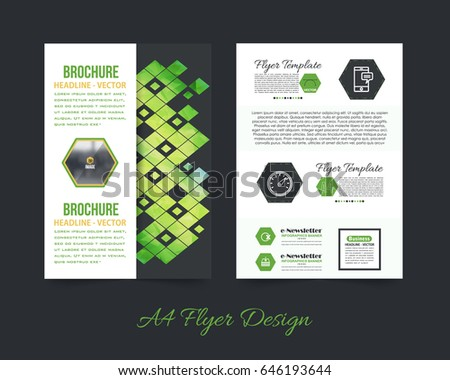 Business pamphlet low poly booklet template stock vector 2018 business pamphlet or low poly booklet template a4 document and vector background flyer polygonal accmission Image collections