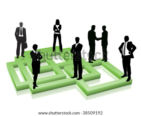 Business people. Global business concept