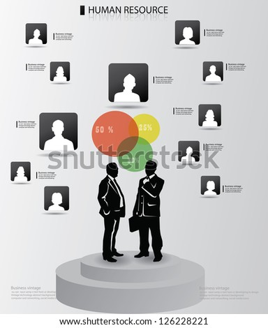 Business peoples,avatar,graphics design,vector - stock vector