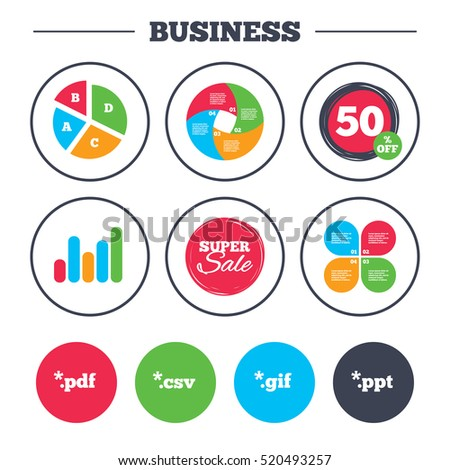 Business pie chart growth graph document stock vector royalty free business pie chart growth graph document icons file extensions symbols pdf ccuart Image collections