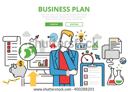 Lineart stock images royalty free images vectors - Business plan for web design company ...