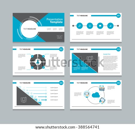 business presentation template setpowerpoint template