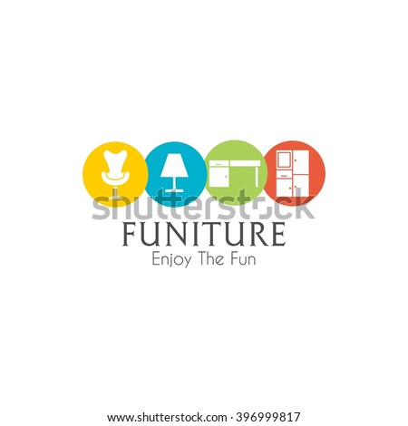 Business sign vector template furniture store stock vector hd business sign vector template for furniture store home decor boutique design template vector illustration wajeb Choice Image