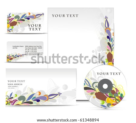 Business style templates for your project design, Vector illustration. - stock vector