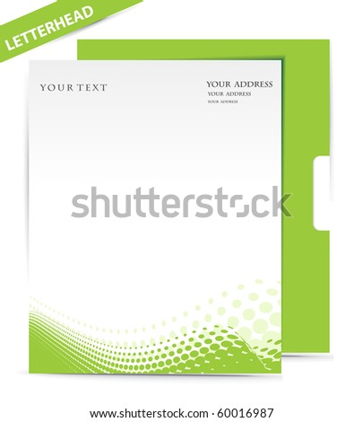 Business style templates, Vector illustration - stock vector