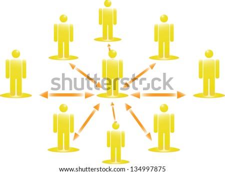 Business Team - stock vector