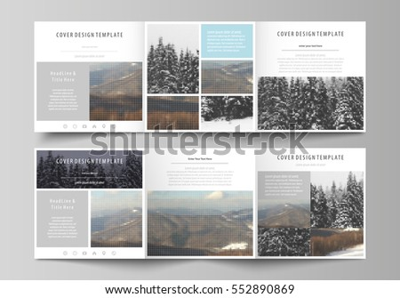 Leaflet template stock images royalty free images for A4 tri fold brochure template