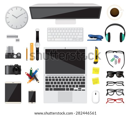 Business top concept Flat design Vector illustration. - stock vector