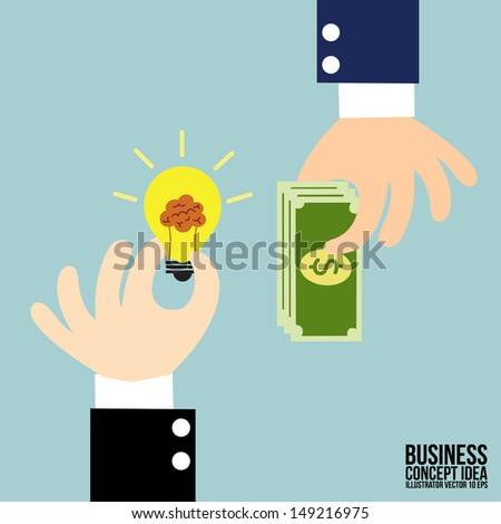 Business Trading  - stock vector