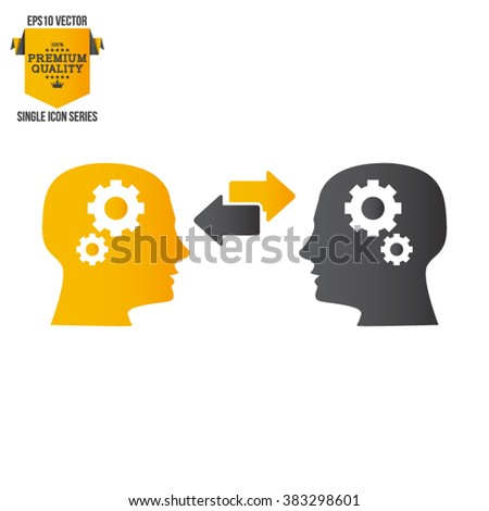 Business Training And Learning Single Icon Vector Illustration