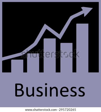 Business up.vector - stock vector