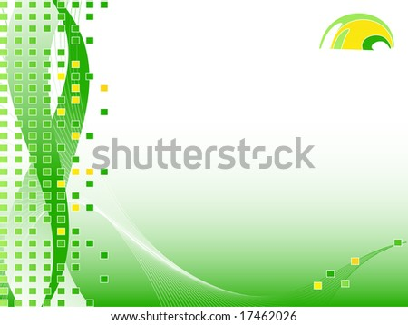 business vector backdrop with logo and copy space